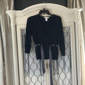 White House black market, dress cardigan